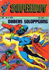 Cover Thumbnail for Superboy (Illustrerte Klassikere / Williams Forlag, 1969 series) #4/1973