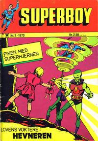 Cover Thumbnail for Superboy (Illustrerte Klassikere / Williams Forlag, 1969 series) #2/1973
