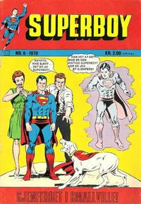 Cover Thumbnail for Superboy (Illustrerte Klassikere / Williams Forlag, 1969 series) #6/1970