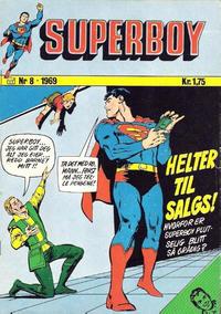 Cover Thumbnail for Superboy (Illustrerte Klassikere / Williams Forlag, 1969 series) #8/1969