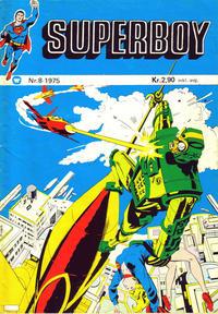 Cover Thumbnail for Superboy (Illustrerte Klassikere / Williams Forlag, 1969 series) #8/1975