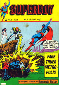 Cover Thumbnail for Superboy (Illustrerte Klassikere / Williams Forlag, 1969 series) #3/1976