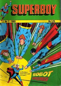 Cover Thumbnail for Superboy (Illustrerte Klassikere / Williams Forlag, 1969 series) #7/1969