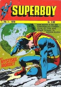 Cover Thumbnail for Superboy (Illustrerte Klassikere / Williams Forlag, 1969 series) #1/1970