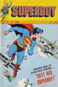 Cover Thumbnail for Superboy (Illustrerte Klassikere / Williams Forlag, 1969 series) #12/1969