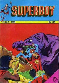 Cover Thumbnail for Superboy (Illustrerte Klassikere / Williams Forlag, 1969 series) #9/1969