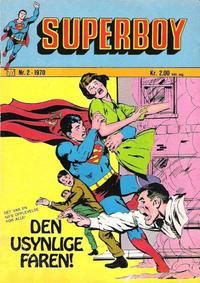 Cover Thumbnail for Superboy (Illustrerte Klassikere / Williams Forlag, 1969 series) #2/1970