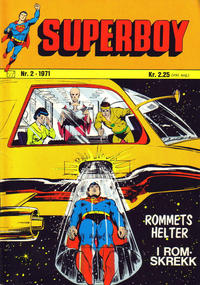Cover Thumbnail for Superboy (Illustrerte Klassikere / Williams Forlag, 1969 series) #2/1971