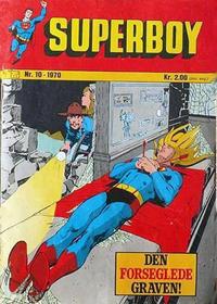 Cover Thumbnail for Superboy (Illustrerte Klassikere / Williams Forlag, 1969 series) #10/1970