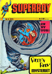 Cover Thumbnail for Superboy (Illustrerte Klassikere / Williams Forlag, 1969 series) #9/1973