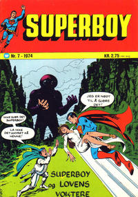 Cover Thumbnail for Superboy (Illustrerte Klassikere / Williams Forlag, 1969 series) #7/1974