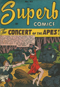 Cover Thumbnail for Superb Comics (Bell Features, 1949 series) #45