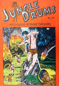 Cover Thumbnail for Jungle Drums (Bell Features, 1949 series) #19