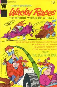Cover Thumbnail for Hanna-Barbera Wacky Races (Western, 1969 series) #6 [Whitman Variant]
