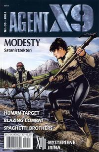 Cover Thumbnail for Agent X9 (Hjemmet / Egmont, 1998 series) #3/2011