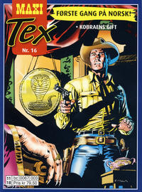 Cover Thumbnail for Maxi Tex (Hjemmet / Egmont, 2008 series) #16