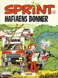 Cover Thumbnail for Sprint (Semic, 1986 series) #24 - Mafiaens bønner [2. opplag]