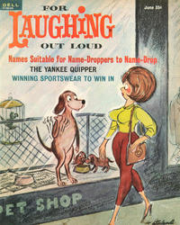 Cover Thumbnail for For Laughing Out Loud (Dell, 1956 series) #35