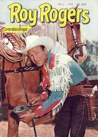 Cover Thumbnail for Roy Rogers (Serieforlaget / Se-Bladene / Stabenfeldt, 1954 series) #3/1955