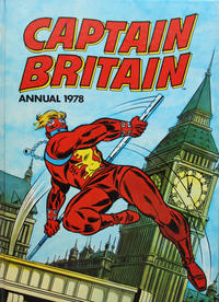Cover Thumbnail for Captain Britain Annual (World Distributors, 1977 series) #1978