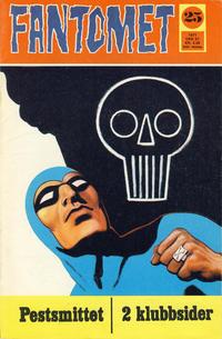 Cover Thumbnail for Fantomet (Romanforlaget, 1966 series) #25/1971