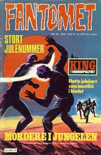 Cover Thumbnail for Fantomet (Semic, 1976 series) #24/1978