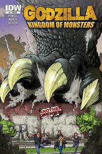 Cover for Godzilla: Kingdom of Monsters (IDW, 2011 series) #1 [Second Printing: Collector's Corner Cover]