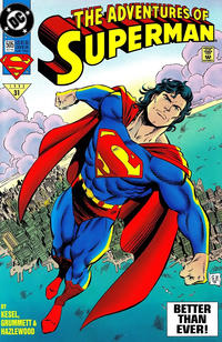 Cover Thumbnail for Adventures of Superman (DC, 1987 series) #505 [Standard Cover - Direct]