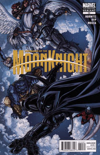 Cover Thumbnail for Vengeance of the Moon Knight (Marvel, 2009 series) #10 [Second Printing]