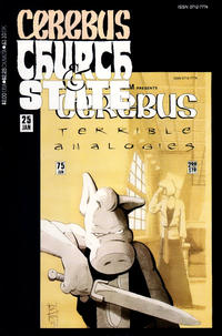 Cover Thumbnail for Cerebus Church & State (Aardvark-Vanaheim, 1991 series) #25