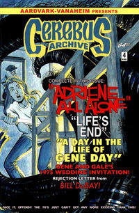 Cover Thumbnail for Cerebus Archive (Aardvark-Vanaheim, 2009 series) #4