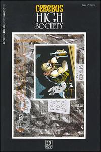Cover Thumbnail for Cerebus: High Society (Aardvark-Vanaheim, 1990 series) #20
