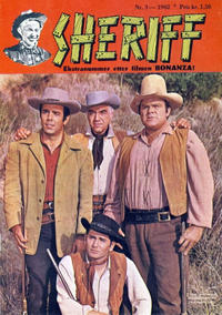 Cover Thumbnail for Sheriff (Serieforlaget / Se-Bladene / Stabenfeldt, 1959 series) #3/1962