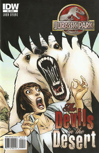 Cover Thumbnail for Jurassic Park: The Devils in the Desert (IDW, 2011 series) #4