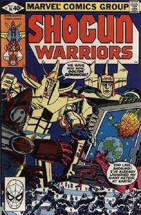 Cover Thumbnail for Shogun Warriors (Marvel, 1979 series) #14 [Direct]