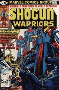 Cover Thumbnail for Shogun Warriors (Marvel, 1979 series) #16 [Direct]