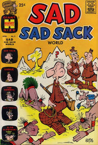 Cover Thumbnail for Sad Sad Sack World (Harvey, 1964 series) #3