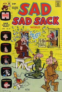 Cover Thumbnail for Sad Sad Sack World (Harvey, 1964 series) #43