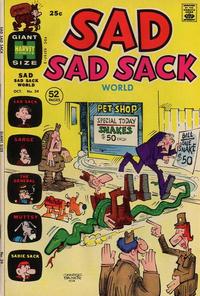 Cover Thumbnail for Sad Sad Sack World (Harvey, 1964 series) #39