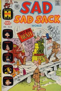 Cover Thumbnail for Sad Sad Sack World (Harvey, 1964 series) #38
