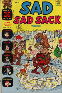 Cover Thumbnail for Sad Sad Sack World (Harvey, 1964 series) #37