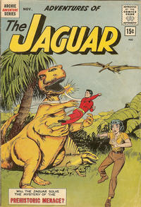 Cover for Adventures of the Jaguar (Archie, 1961 series) #10 [15¢]