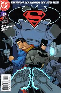 Cover Thumbnail for Superman / Batman (DC, 2003 series) #20 [Direct Sales]