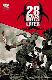 Cover Thumbnail for 28 Days Later (Boom! Studios, 2009 series) #1 [Cover B]
