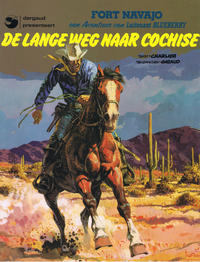 Cover Thumbnail for Luitenant Blueberry (Dargaud Benelux, 1965 series) #4 - De lange weg naar Cochise