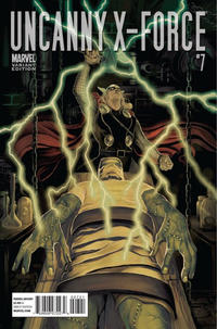 Cover Thumbnail for Uncanny X-Force (Marvel, 2010 series) #7 [Thor Goes Hollywood Variant Edition]