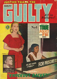 Cover Thumbnail for Justice Traps the Guilty (Atlas, 1952 series) #4