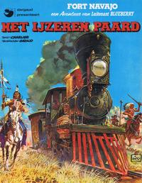 Cover Thumbnail for Luitenant Blueberry (Dargaud Benelux, 1965 series) #7 - Het ijzeren paard
