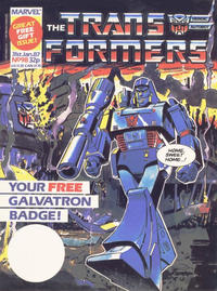 Cover Thumbnail for Transformers (Marvel UK, 1984 series) #98
