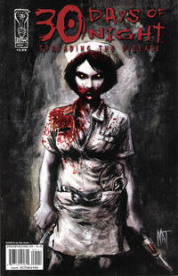 Cover Thumbnail for 30 Days of Night: Spreading the Disease (IDW, 2006 series) #1 [Cover B Nat Jones]